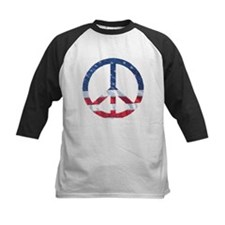 Patriotic Peace Sign: Tee
