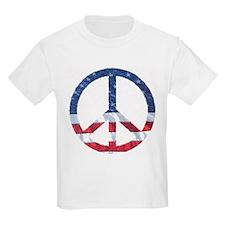 Patriotic Peace Sign: T-Shirt