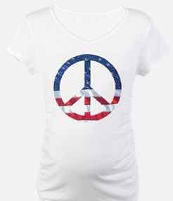 Patriotic Peace Sign: Shirt