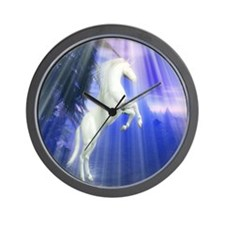 Mystical Unicorn Wall Clock