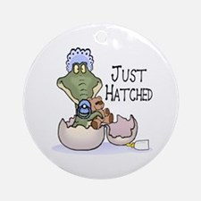 Just Hatched - Pink Ornament (Round)