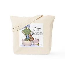 Just Hatched - Blue Tote Bag