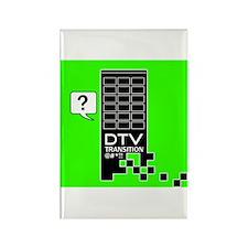 DTV Transition Rectangle Magnet