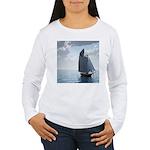 Sailing On a Boat Women's Long Sleeve T-Shirt