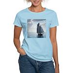 Sailing On a Boat Women's Light T-Shirt