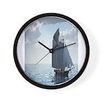 Sailing On a Boat Wall Clock
