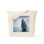 Sailing On a Boat Tote Bag