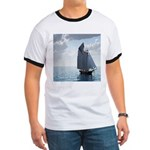 Sailing On a Boat Ringer T