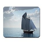 Sailing On a Boat Mousepad