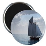 Sailing On a Boat Magnet