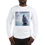 Sailing On a Boat Long Sleeve T-Shirt