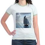 Sailing On a Boat Jr. Ringer T-Shirt