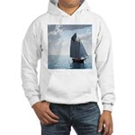 Sailing On a Boat Hooded Sweatshirt