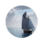 """Sailing On a Boat 3.5"""" Button (100 pack)"""