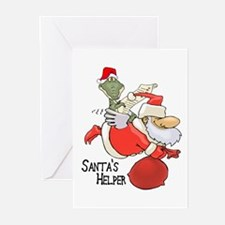 Santa's Helper Greeting Cards (Pk of 10)