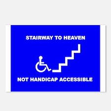 Cute Handicap placard Postcards (Package of 8)