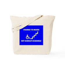Unique Handicap placard Tote Bag