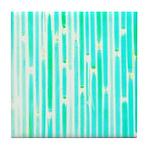Lucky Colorful Bamboo Tile Coaster / Trivet