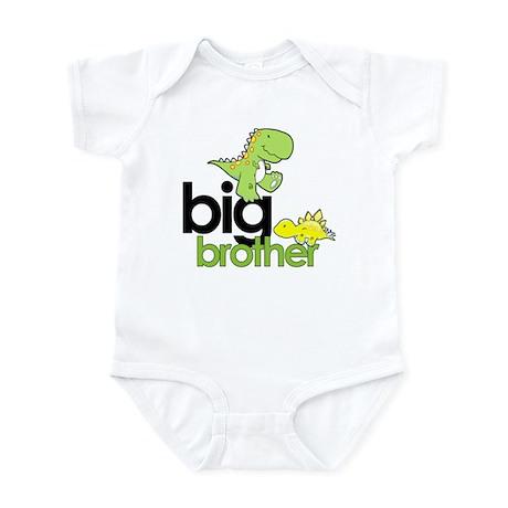 big brother t-shirt dinosaur Infant Bodysuit
