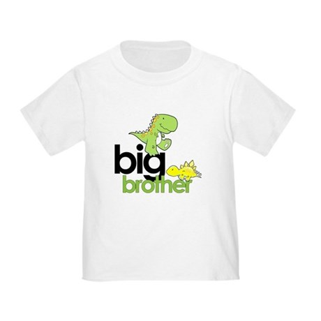 big brother t-shirt dinosaur Toddler T-Shir