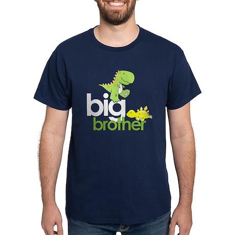 ADULT SIZES big brother dinosaur Dark T-Shirt