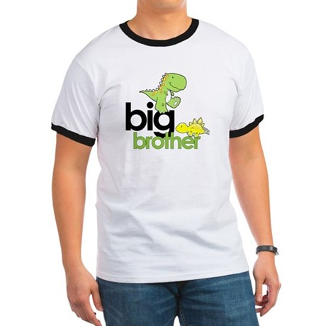 ADULT SIZES big brother dinosaur Ringer T
