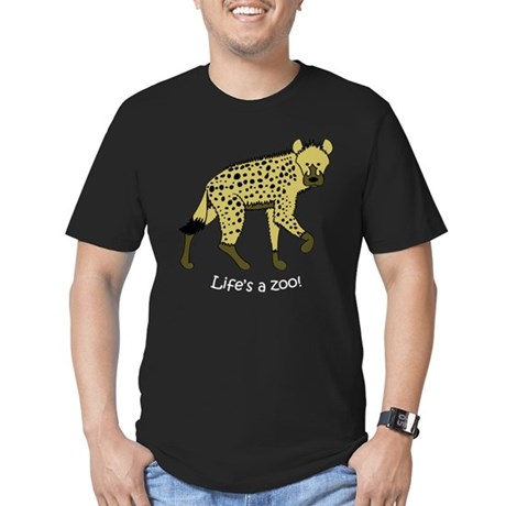 Hyena Men's Fitted T-Shirt (dark)