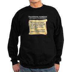 Traditional Marriage Sweatshirt