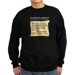 Traditional Marriage Sweatshirt (dark)