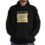 Traditional Marriage Hoodie (dark)