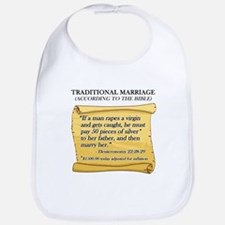 Traditional Marriage Bib