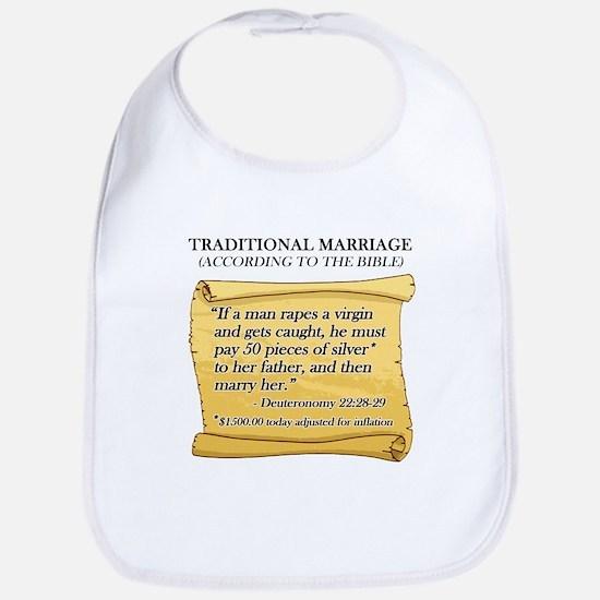 Traditional Marriage Bib
