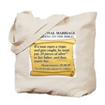 Traditional Marriage Tote Bag