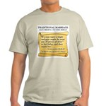 Traditional Marriage Light T-Shirt