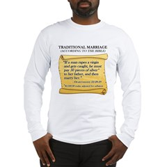 Traditional Marriage Long Sleeve T-Shirt