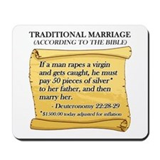 Traditional Marriage Mousepad