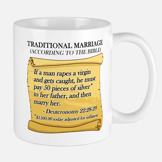 Traditional Marriage Mug