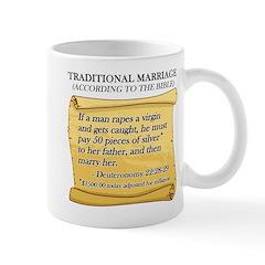 Traditional Marriage Mug