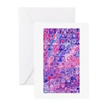Abstract Designer Greeting Cards (Pk of 10)