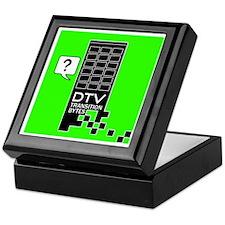 DTV Transition Keepsake Box