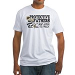 Protective Fathers Fitted T-Shirt