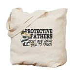 Protective Fathers Tote Bag