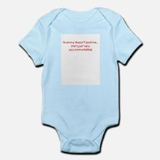 Accommodating Grammy Onesie