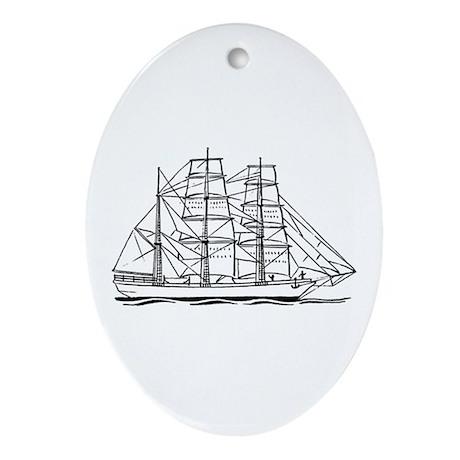 Cutter Logo Oval Ornament
