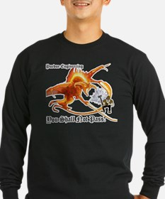 balrogdark copy Long Sleeve T-Shirt