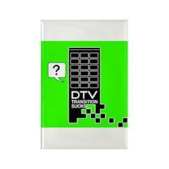 DTV Transition Rectangle Magnet (100 pack)