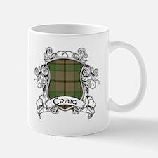 Craig Tartan Shield Mug