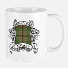 Craig Tartan Shield Small Small Mug