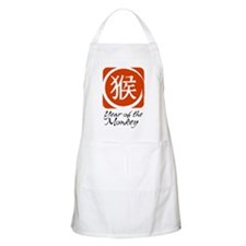 Year of the Monkey BBQ Apron