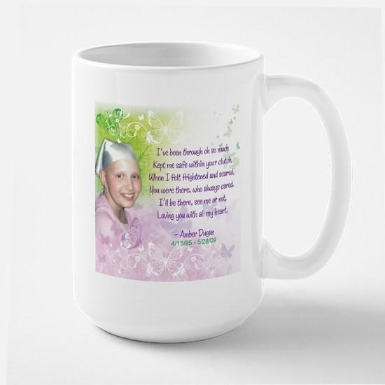 Amber's Poem Large Mug